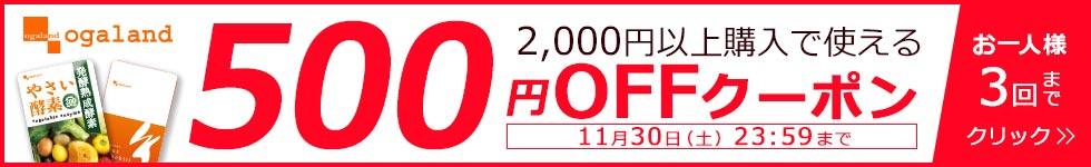 dショッピング_オーガランド500円OFFクーポン